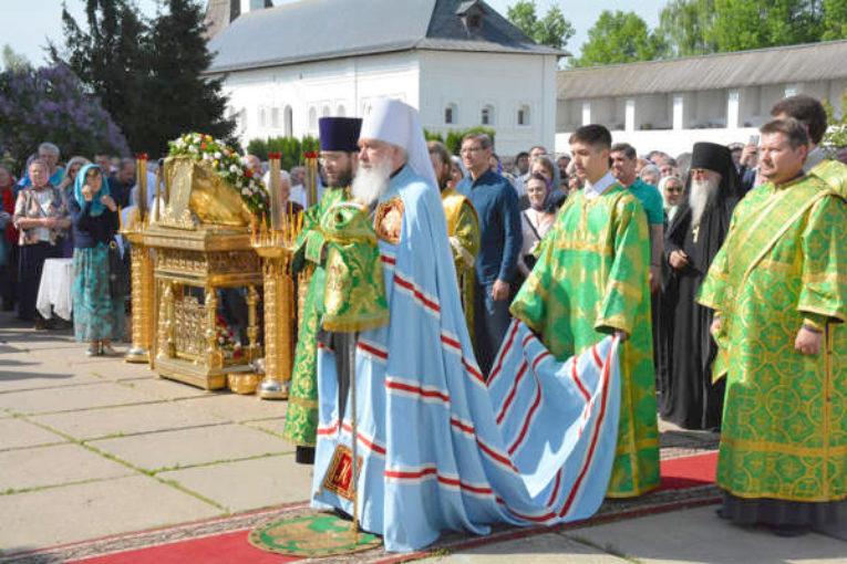 14 мая — день памяти преподобного Пафнутия Боровского
