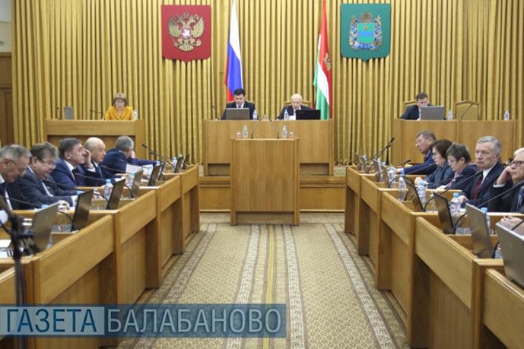 Парламент принял областной бюджет на 2019 год и плановый период 2020 и 2021 годов