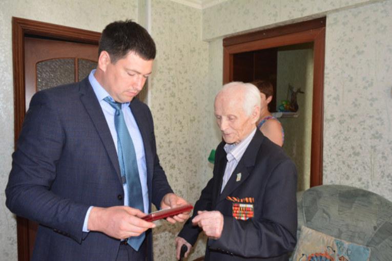 Награждение медалью «75 лет Калужской области»