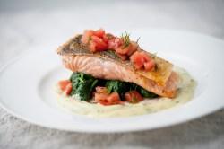 Floor Wild Salmon Recipe British Chefs Salmon Steak Recipe Fried Salmon Steak Recipe Sides