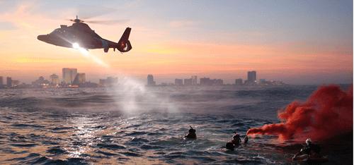 USCG Rescue Swimmer Training