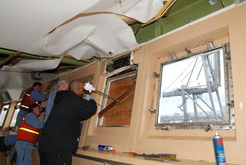 Matson Container Ship Kauai Bridge Damage