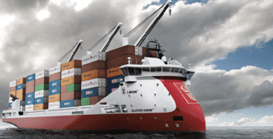 ULSTEIN X-BOW Container Ship