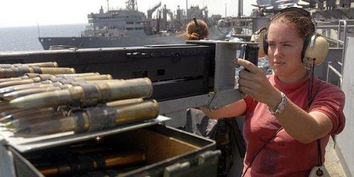 Navy 3rd Class Susan Holt