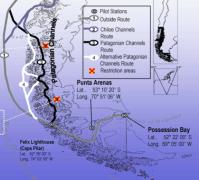 Strait of Magellan Pilotage Chart