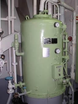 Ship's Oily Water Separator