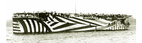 razzle dazzle ship design