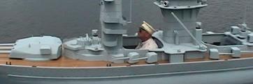 German Battleship Bismark - Manned Ship Model