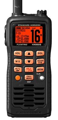 Standard Horizon HX850S VHF/GPS DSC Floating Submersible Radio