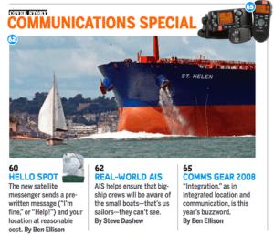 Big Ship - Small Boat - MArine Electronics