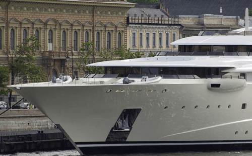 Roman Abramovich\'s Yacht Pelorus