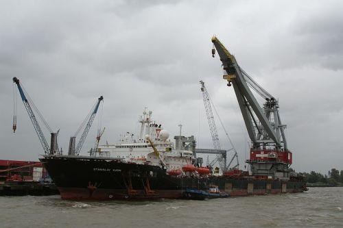 Crane Ship M/V Stanislav Yudin