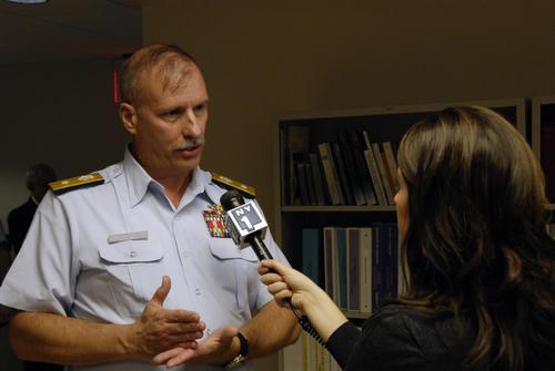 RDML Rabago, United States Coast Guard - Interview