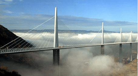 Millau Bridge Photo After Construction