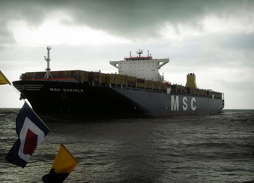 MSC Daniela with Cargo