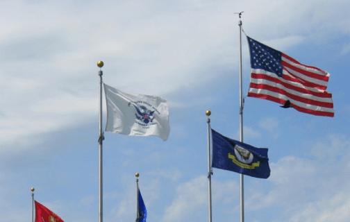 Natuional Maritime Day Flags - Washington DC