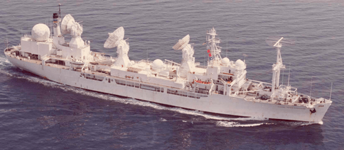 Spy Ship USNS Vandenburg