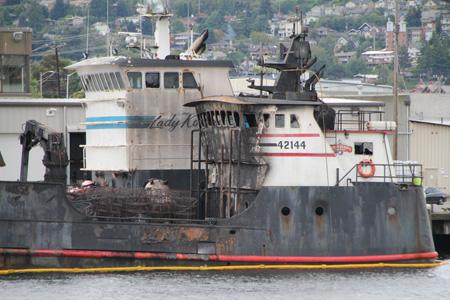 Incident Photo Of The Week Fire Aboard Deadliest Catch S