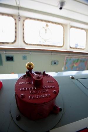 ship's general alarm shipboard emergency