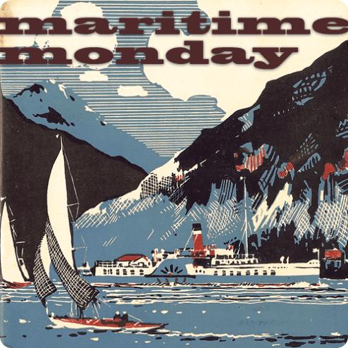 Maritime Monday Artwork - Alaska Paddlewheel