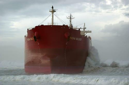 Coal Ship Pasha Bulker