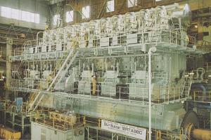 The World's Largest Marine Diesel