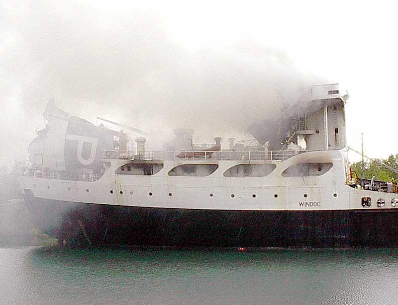 Windoc Ship Smoking