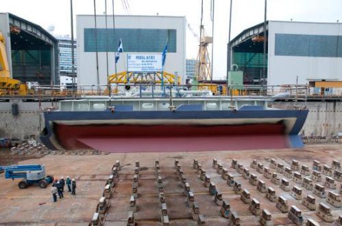 Nieuw Amsterdam  Shipyard Day 1