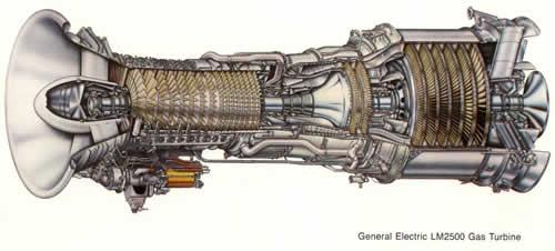 LM2500 Marine Gas Turbine Engine
