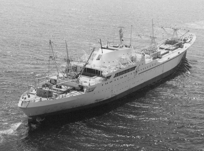 The World S First Nuclear Merchant Ship Ns Savannah