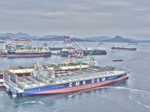 Samsung Heavy Industries HDR Arial View