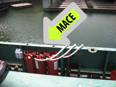 Tanks OF Mace Defense Spray