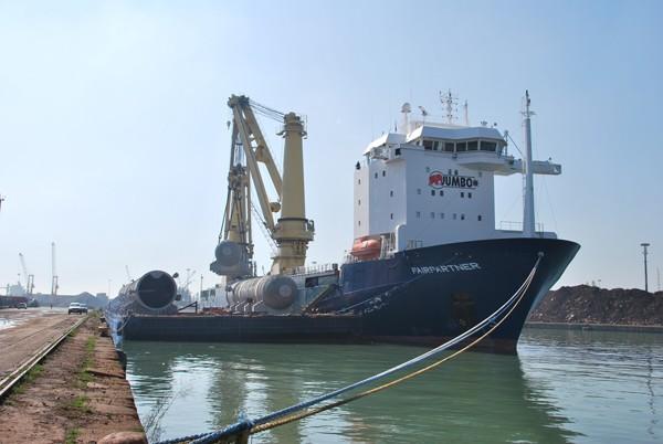 Jumbo Shipping, KNPC project, heavy lift
