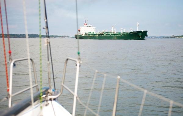 scott barnhill chemical tanker crossing