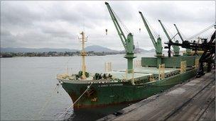Santos brazil port