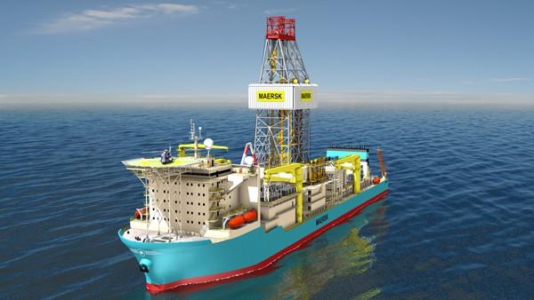 Maersk drilling drillship