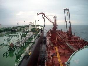OSG Lightering tanker Gulf of Mexico
