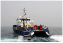Incat Crowther launches latest creation – 'Topaz Zenith' crew boat