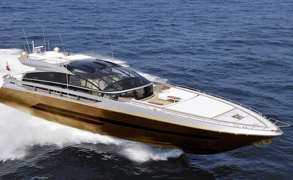 history supreme gold yacht