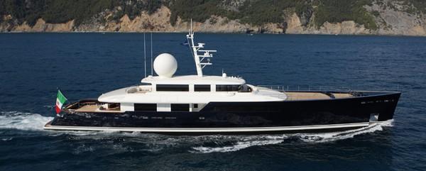 Perini Navi Group Galileo G ice class yacht