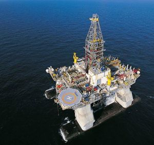 Deepwater Horizion drilling rig