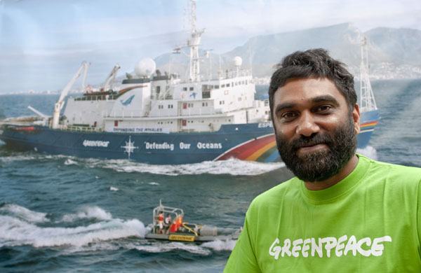 Kumi Naidoo Greenpeace