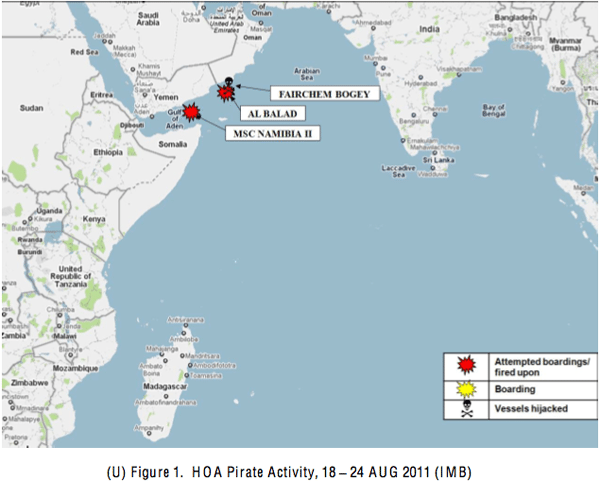 piracy summary indian ocean