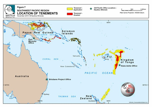 nautilus offshore minerals map