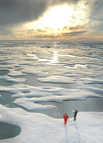 big-oil-arctic-ice NOAA