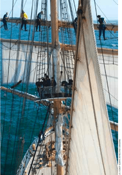 USCG Cutter Eagle sail training