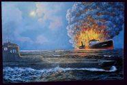 No Oil Found Aboard Sunken WWII Tanker