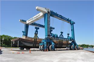 World's Third Largest Boat Hoist