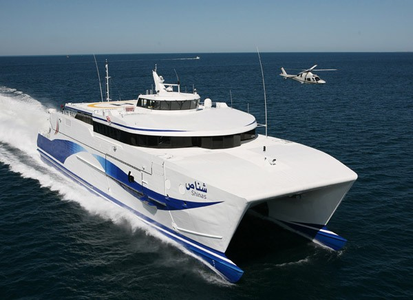 Austal catamaran ferry Shinas
