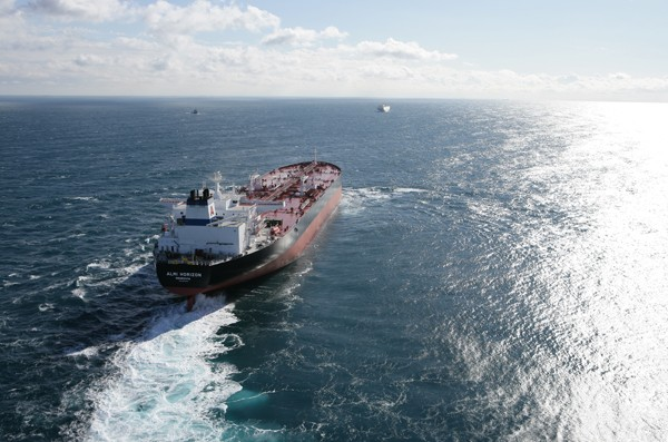 Almi Horizon suezmax tanker